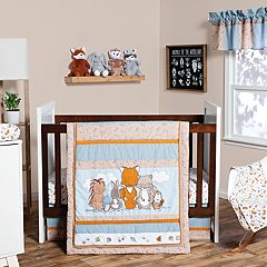 Trend Lab 3-pc. Wild Woods Bunch Crib Bedding Set