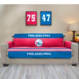 Pegasus Philadelphia 76ers Sofa Furniture Protectors with Elastic Straps