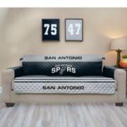 Pegasus San Antonio Spurs Sofa Furniture Protectors with Elastic Straps