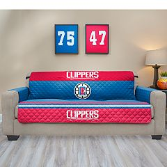 Pegasus Los Angeles Clippers Sofa Furniture Protectors with Elastic Straps