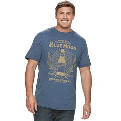 Big & Tall Blue Moon Beer Graphic Tee