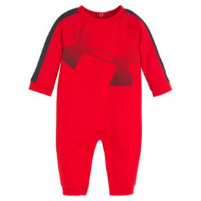 Baby Boy Under Armour Big Logo Coverall