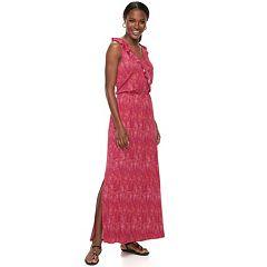 Petite Apt. 9® Ruffle Maxi Dress