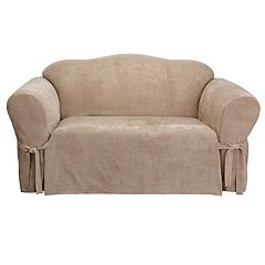 Sure Fit Faux-Suede Sofa Slipcover
