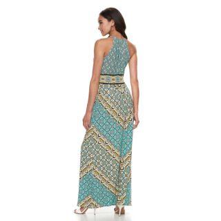 Petite Suite 7 High Neck Maxi Dress