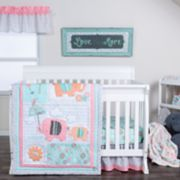 Trend Lab 3-pc. Playful Elephants Crib Bedding Set
