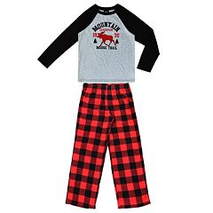 Boys 4-20 Jellifish Moose 2-Piece Pajamas