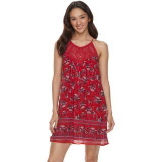 Juniors' Speechless Floral Shift Dress