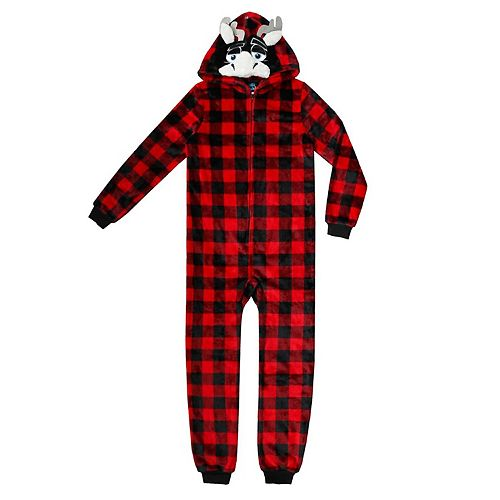 da721b4ca Boys 4-20 Jellifish Animal Hooded 1-Piece Pajamas