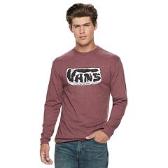 Men's Vans Ground Cloud Long Sleeve Graphic Tee