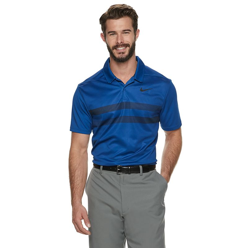 4feedefc UPC 888409040847 product image for Men's Nike Essential Dri-FIT Striped  Golf Polo, Size