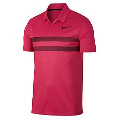 Men's Nike Essential Dri-FIT Striped Golf Polo