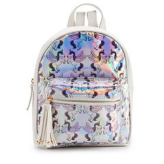 Printed Hologram Mini Backpack