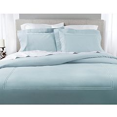 Grand Collection 200 Thread Count Soft Washed Cotton Percale Duvet Cover Set