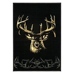 United Weavers Designer Contours Buck Wear Moment of Truth Rug