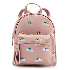 Glitter Rainbow Mini Backpack