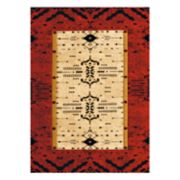 United Weavers Designer Contours Made True Arrow Pattern Rug