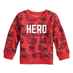 Baby Boy Jumping Beans® Print Pullover Softest Fleece Top