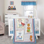 Trend Lab 3-pc. Superheroes Crib Bedding Set