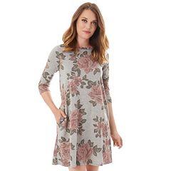 Petite Apt. 9® French Terry Swing Dress