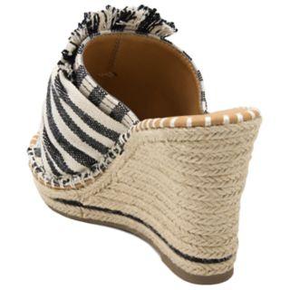 sugar Honora Women's Espadrille Wedge Sandals