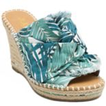 sugar Honora Women's Espadrille Wedge Sandals