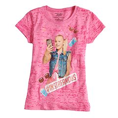Girls 7-16 JoJo Siwa '#Instafamous' Graphic Tee