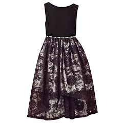 Girls 7-16 Bonnie Jean Sleeveless Soutache Skirt Dress