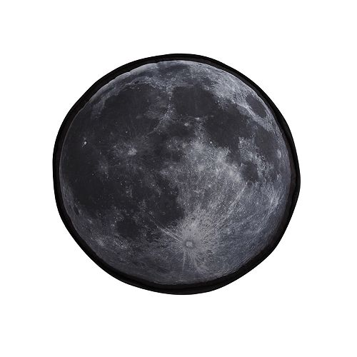 Laura Hart Kids Moon Round Throw Pillow