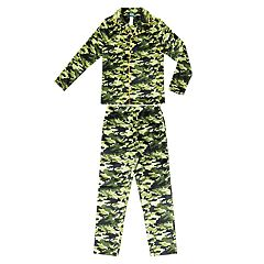 Boys 4-20 Jellifish Flannel Printed 2-Piece Pajama Set