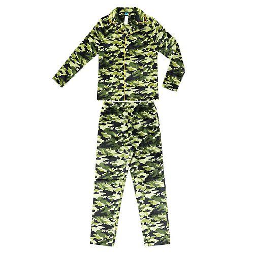 Boys 4-20 Jellifish Printed 2-Piece Pajama Set