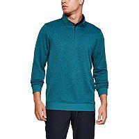 Under Armour Men's Quarter Zip Storm Fleece Sweater (Teal Vibe)