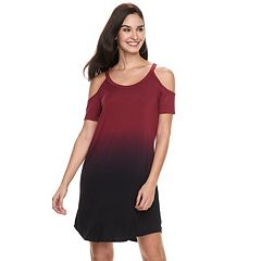 Women's Rock & Republic® Cold-Shoulder T-Shirt Dress