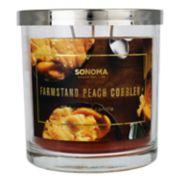 SONOMA Goods for Life? Farmstand Peach Cobbler 14-oz. Candle Jar