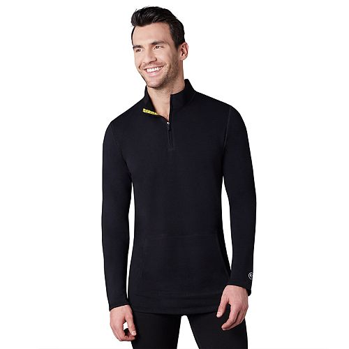 Big & Tall Climatesmart by Cuddl Duds® Comfort Wear Quarter-Zip Pullover