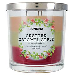 SONOMA Goods for Life™ Crafted Caramel Apple 14-oz. Candle Jar