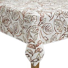 Celebrate Fall Together Leaf Tablecloth