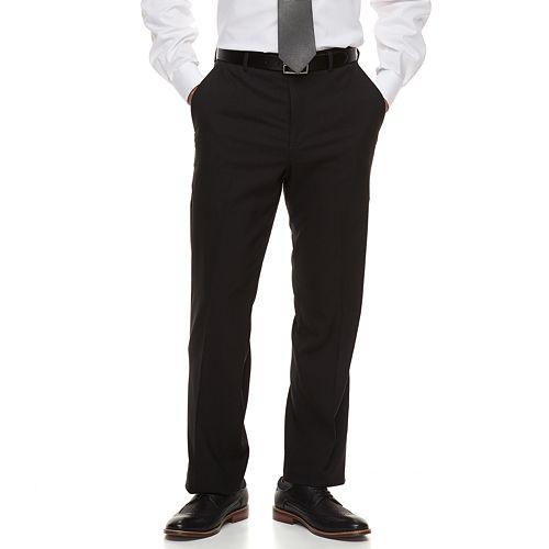 Big & Tall Croft & Barrow® Classic-Fit Stretch No-Iron Dress Pants