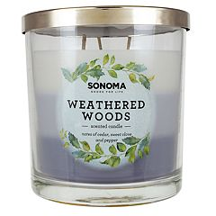 SONOMA Goods for Life™ Weathered Woods 14-oz. Candle Jar