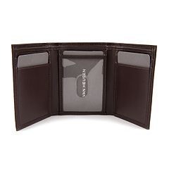 Men's Van Heusen RFID-Blocking Smooth Leather Trifold Wallet