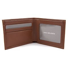 Men's Van Heusen RFID-Blocking Smooth Leather Slimfold Wallet