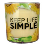SONOMA Goods for Life? Sunflower Applewood Cardamom 14-oz. Candle Jar
