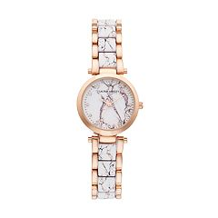 Laura Ashley Women's Marbleized Watch