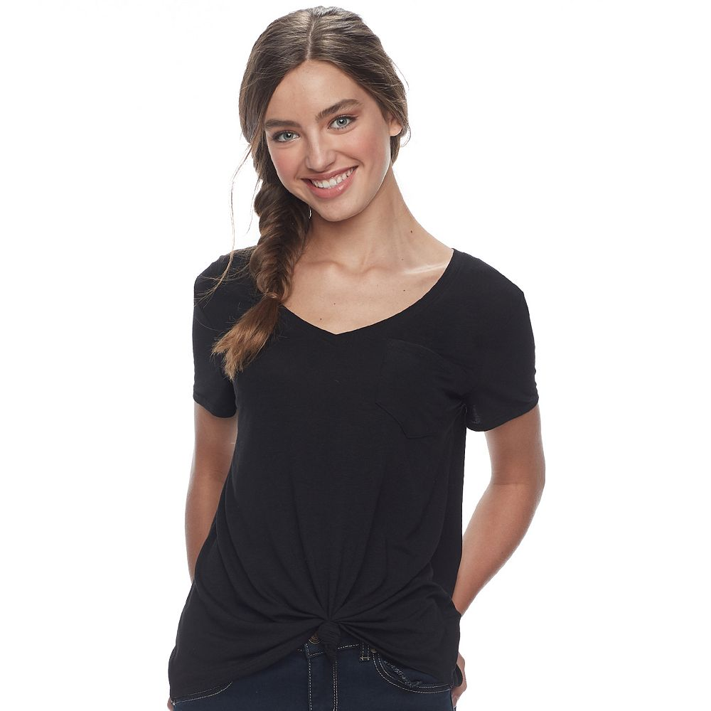 Juniors SO® Favorite Relaxed Pocket Tee