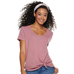 dc175cab6b96 Juniors' SO® Relaxed Pocket Tee