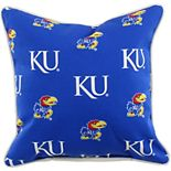 College Covers Kansas Jayhawks Outdoor Decorative Pillow
