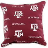 College Covers Texas A&M Aggies Outdoor Decorative Pillow