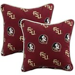 College Covers Florida State Seminoles 2-Piece Outdoor Decorative Pillows
