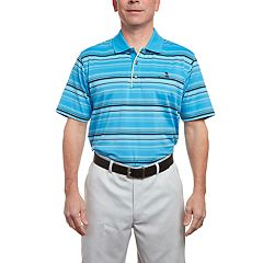 Men's Pebble Beach Jersey Engineer Striped Polo