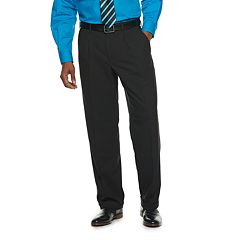Men's Croft & Barrow® Classic-Fit No-Iron Stretch Pleated Dress Pants